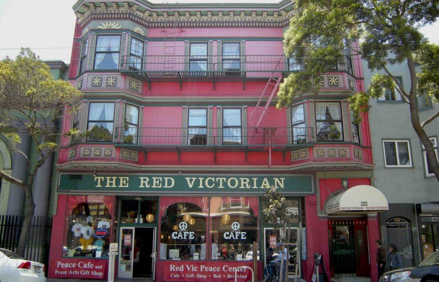SF red vic